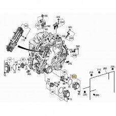 Sankabos valdymo varikliukas